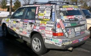 Bumper Sticker Activism